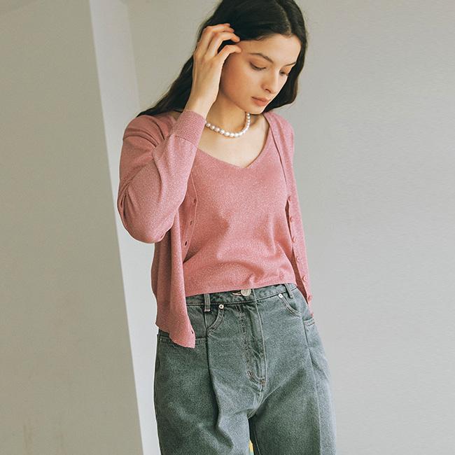 韓国ファッション カーディガン