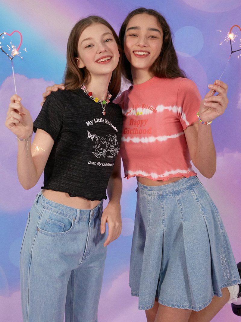 韓国ファッション ROLAROLA Tシャツ