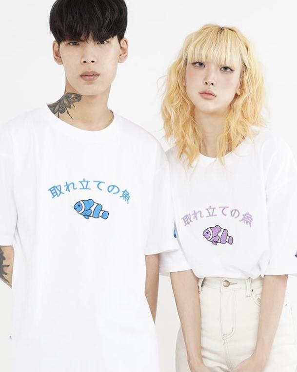 CROSSDRESSLY(クロスドレッシリー)  フィッシュオリジナルTシャツ