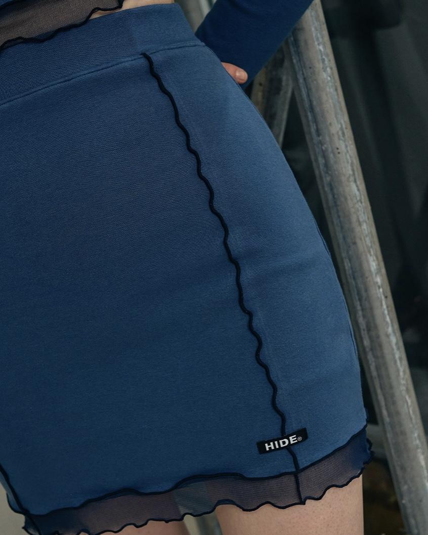 HIDE(ハイド)  レタスエッジスカート