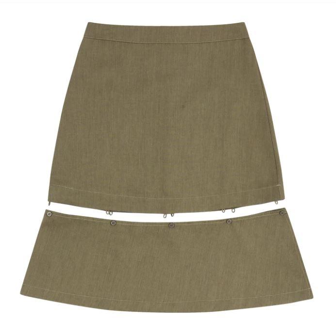 NOIR CONTEMPORAIN (ノワール コンテンポレイン) ハングスカート