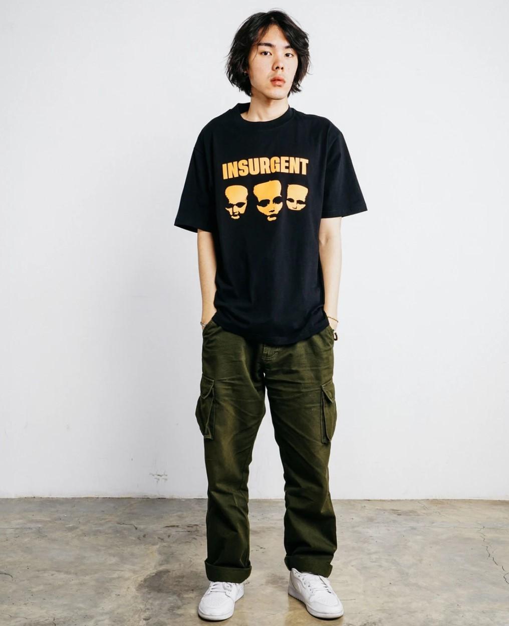 Insurgent Club(インサージェントクラブ)  スリーチャイルドTシャツ