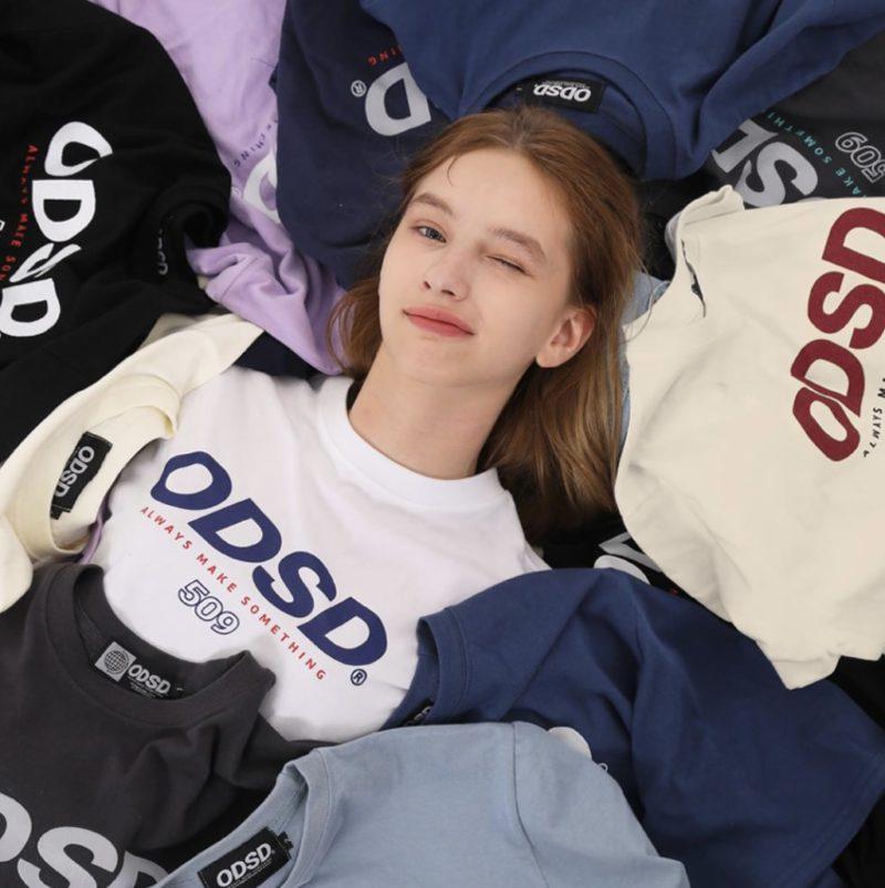 ODD STUDIO ODSDロゴTシャツ