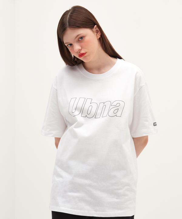アウトラインロゴTシャツ