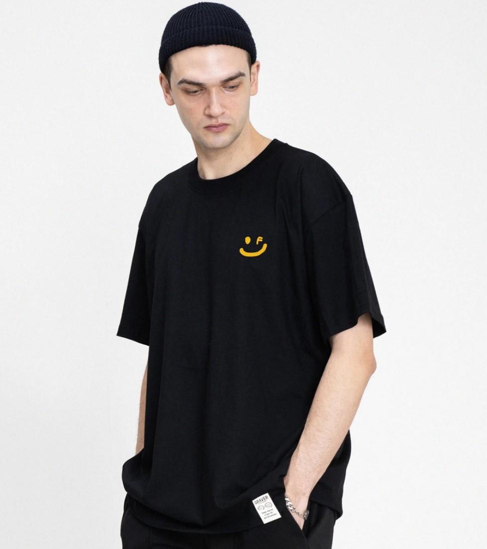 GRAVER (グレーバー) フラワースマイルTシャツ