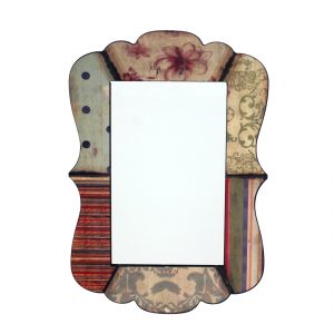 "27"" x 18.9"" Multi-Color, Rustic Decorative, Dressing - Mirror"
