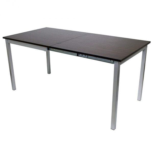 "31.5"" X 63"" X 29.5"" Walnut Easy Slide Dining Table"
