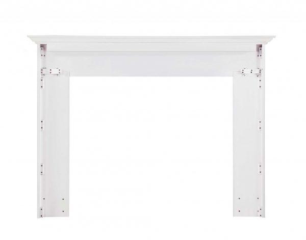 "80"" Graceful White MDF Mantel Shelf"