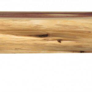 "72"" Modern Natural Eastern Red Cedar Mantel Shelf with a Corbel Bracket"