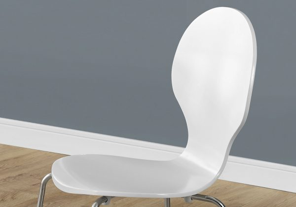 """63.75"""" x 53.25"""" x 102"""" White, Metal - 4 Dining Chairs"""