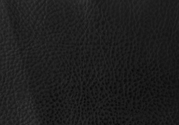 "47"" x 37"" x 63"" Black, Foam, Metal, Polyurethane, Leather-Look - Dining Chairs 2pcs"