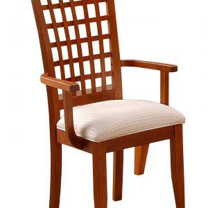 """21"""" x 20"""" x 42"""" Cherry - Dining Chairs 2pcs"""