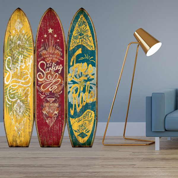 """47"""" x 1"""" x 71"""" Multicolor, Wood, Endless Summer - Screen"""