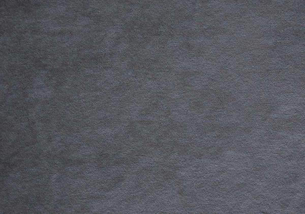 """45.25"""" x 82.75"""" x 49.75"""" Dark Grey Velvet With Chrome Trim - Twin Size Bed"""