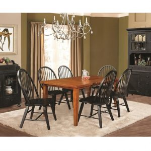 "36"" X 66"" X 30"" Tobacco Hardwood Dining Table"