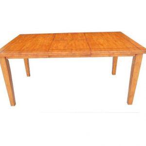 "36"" X 66"" X 30"" Wood Tone Hardwood Dining Table"