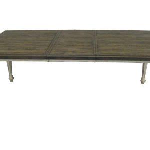"64"" X 42"" X 82"" Vintage Estates Hardwood Dining Table"