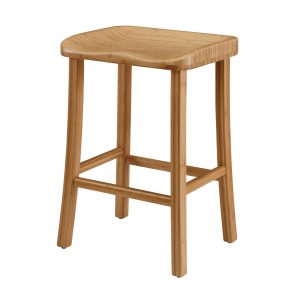 """14"""" x 18"""" x 26"""" Counter Height Stool, Caramelized, (Set of 2)"""