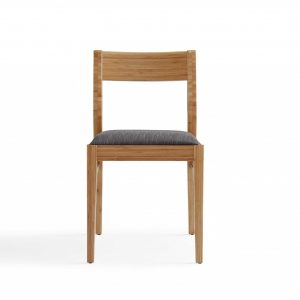 """22.05"""" x 18.9"""" x 33.4"""" Dining Chair, Caramelized, (Set of 2)"""