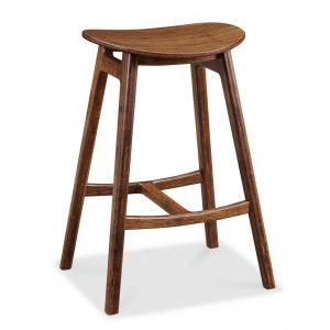 """19.9"""" x 15.8"""" x 31.5"""" Bar Height Stool, Exotic, (Set of 2)"""