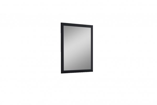 "36"" X 1"" X 44"" Black Glass Mirror"