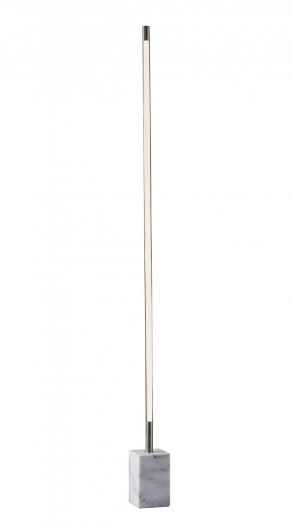"""4.5"""" X 7"""" X 65"""" Brushed steel Marble LED Wall Washer"""