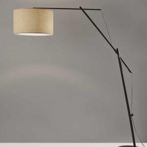 "19.75"" X 68"" X 83""  Metal Arc Lamp"