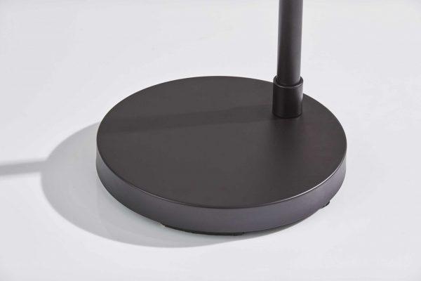 """10"""" X 13.5"""" X 60.25"""" Bronze Metal Floor Lamp"""