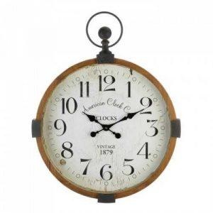 Vintage Industrial Wall Clock