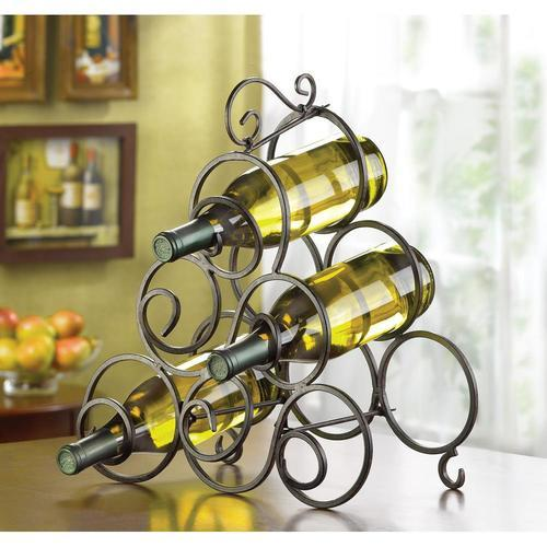 Scrollwork Wine Rack