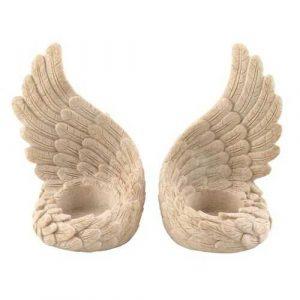 Angel Wings Tealight Set