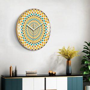 European Style Decorative Pattern Wall Clock