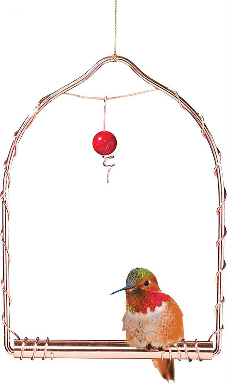 Copper Hummingbird Swing Flying Friends