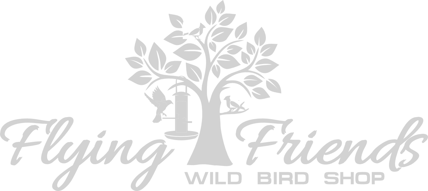 Flying Friends Wild Bird Shop Logo - With Gray Overlay
