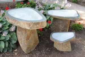 Stone Birdbaths