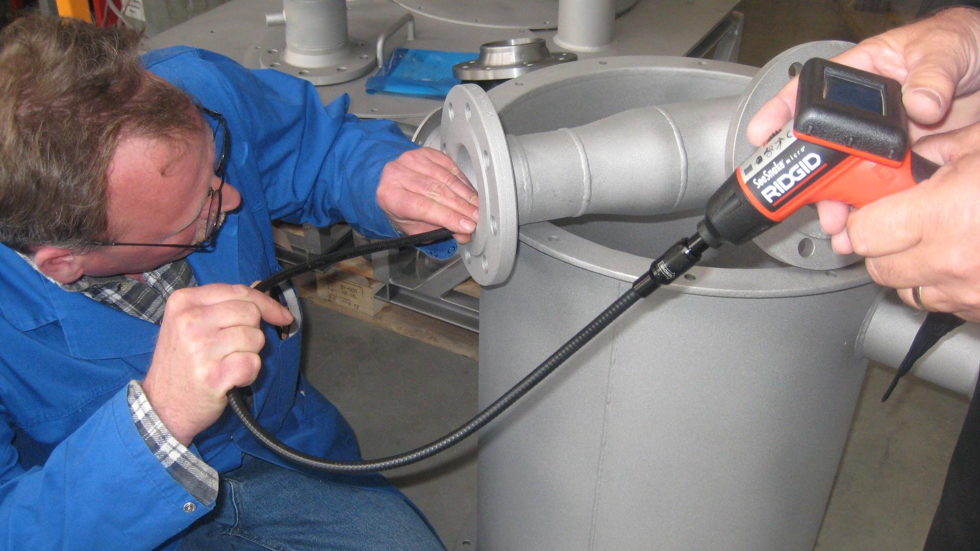 Service, Inbetriebnahme und Wartung aus einer Hand von FRANKE-Filter