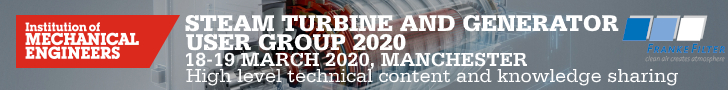 FRANKE-Filter at Steam Turbine and Generator User Group 2020 in Manchester