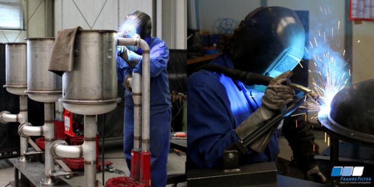 FRANKE-Filter welders