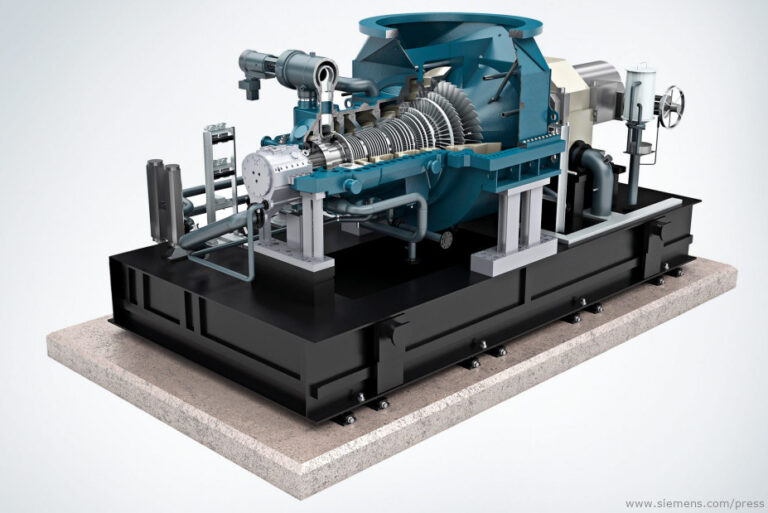 The three Siemens SST-300 industrial steam turbines will be equipped with Oil Mist Eliminators from FRANKE-Filter.