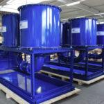 Three individualized heavy duty Oil Mist Eliminators