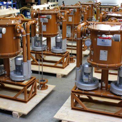 Ölnebelabscheider FF2-166 in vielfacher Ausführung von FRANKE-Filter