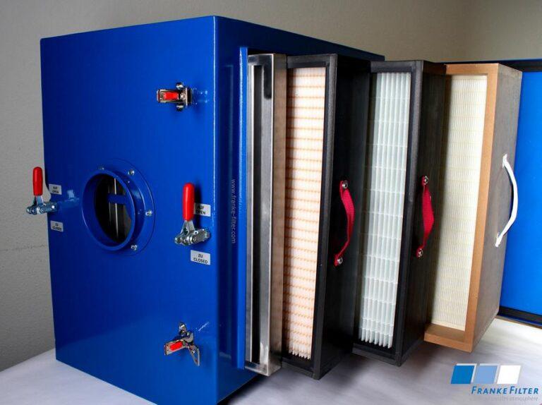 FRANKE-Filter Emulsionsnebelabscheider für die Metallbearbeitung