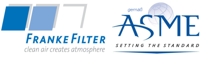 ASME Zertifizierung FRANKE-Filter GmbH