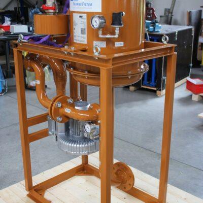 Ölnebelabscheider mit Rahmen von FRANKE-Filter