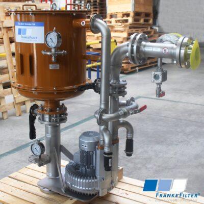 Ölnebelabscheider in Edelstahl- und Schwarzstahl-Ausführung