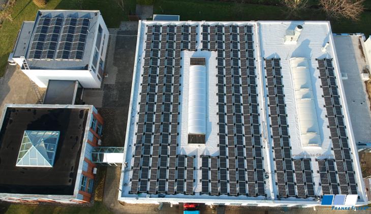 Photovoltaik Anlage FRANKE-Filter