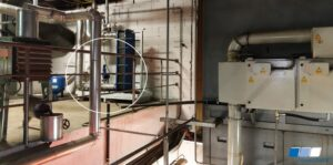 Place of installation of the new Oil Mist Eliminator