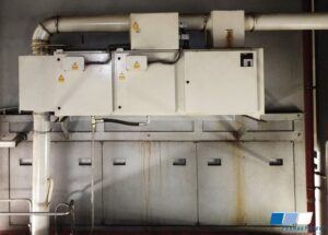 Before the installation of an Oil Mist Separator from FRANKE-Filter