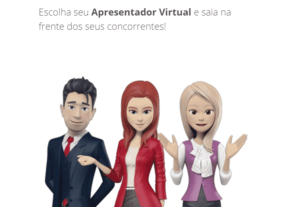 Apresentador Virtual Para Sites