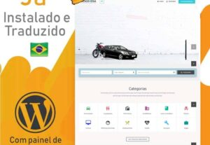 Site de Classificados instalado e traduzido